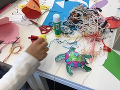 Sea creature crafts, Tūranga