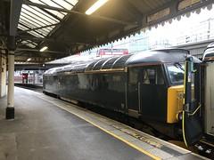 Class 57 locomotive at London Paddington