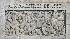 Bas-relief d'Henri Bouchard (Monument aux Morts de Saint-Quentin, France)