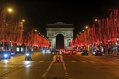 Avenue des Champs-Elysées - Paris (France)