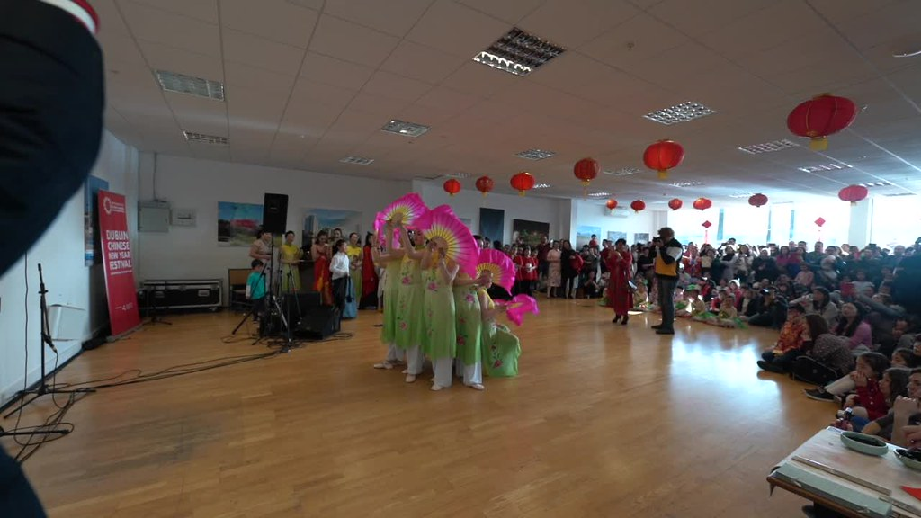 CHINESE-IRISH FUSION MUSIC AND DANCE AT THE CHQ IN DUBLIN DOCKLANDS