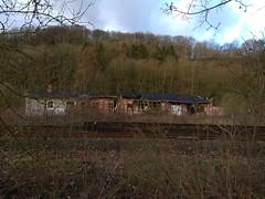 9. Februar 2019 - 8:59 - Verfallener Güterbahnhof in Vlotho