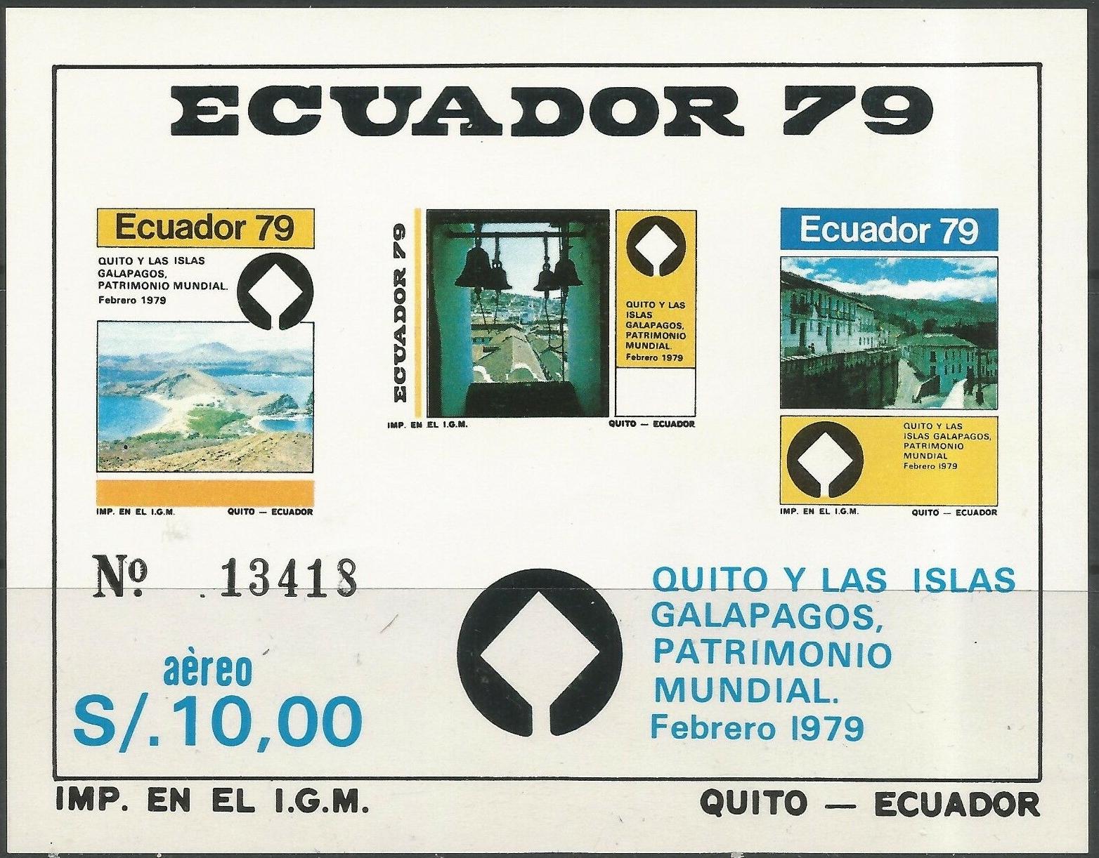 Ecuador - Scott #C653 (1979)