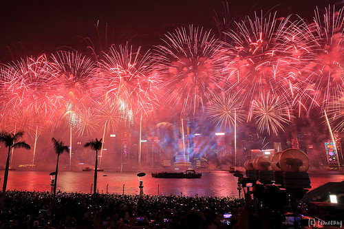 Hong Kong New Year Countdown Celebrations 2019