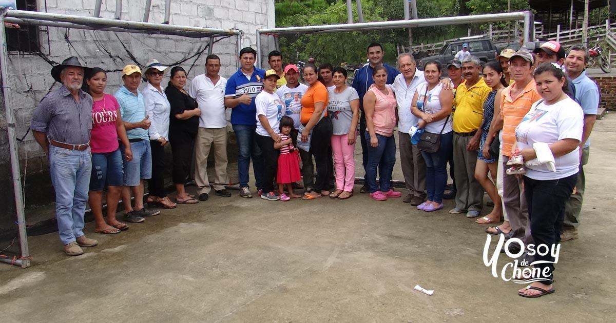 Campesinos de Tigre participaron de jornada productiva