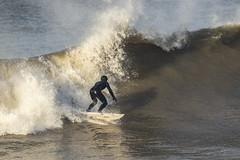 Surf's Up at Sker Point