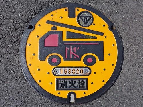 Kadoma Osaka, manhole cover 3 (大阪府門真市のマンホール3)