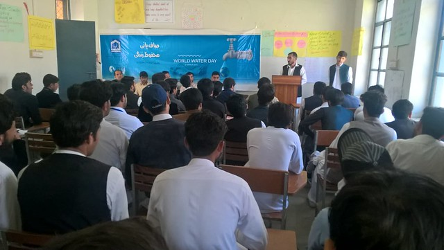 Another Awareness Walk on World Water Day arranged by AKF KPK, Lower Dir