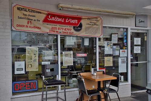 Salem's Diner -- '#1 Diner in Alabama' 2913 18th Street South Homewood (AL) February 2019