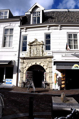 Leerdam, Utrecht, Kerkstraat 48, housefront