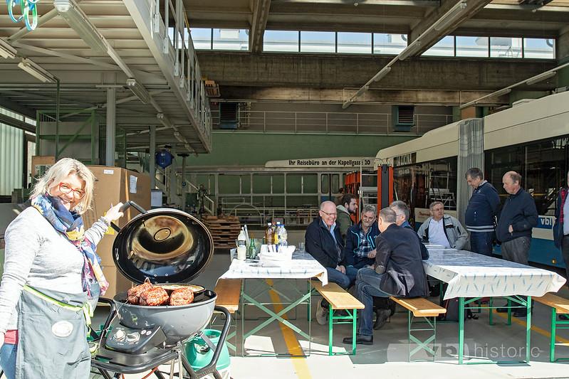 Besichtigung Restaurationsarbeiten FBW Nr. 81