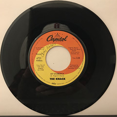 THE KNACK:MY SHARONA(RECORD SIDE-A)