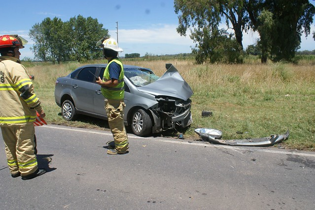 Accidente ruta provincial 41 km 185