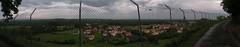 20080515 23055 0905 Jakobus Montverdun Zaun Weite Hügel Wolken Weg_P01 - Photo of Mornand-en-Forez
