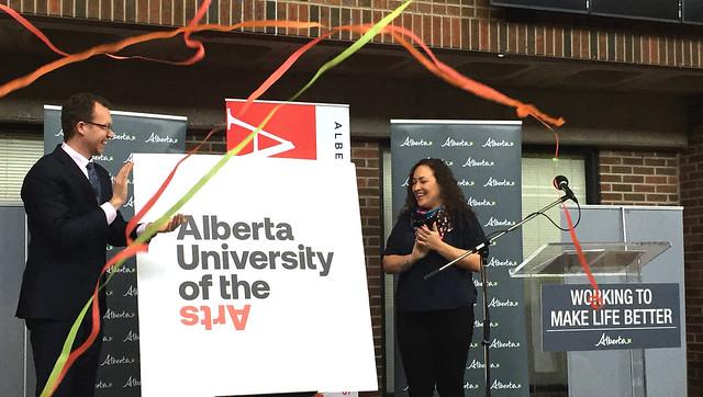 Announcing Alberta's newest university