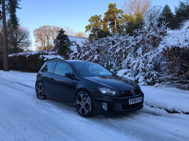 GTI In The Snow