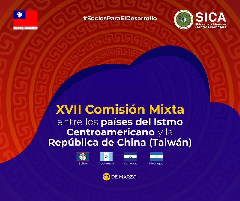 La República de China (Taiwán) y Países del SICA identifican proyectos de cooperación 2019-2020