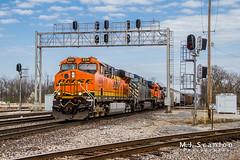 BNSF 6334 | GE ES44AC | BNSF Thayer South Subdivision