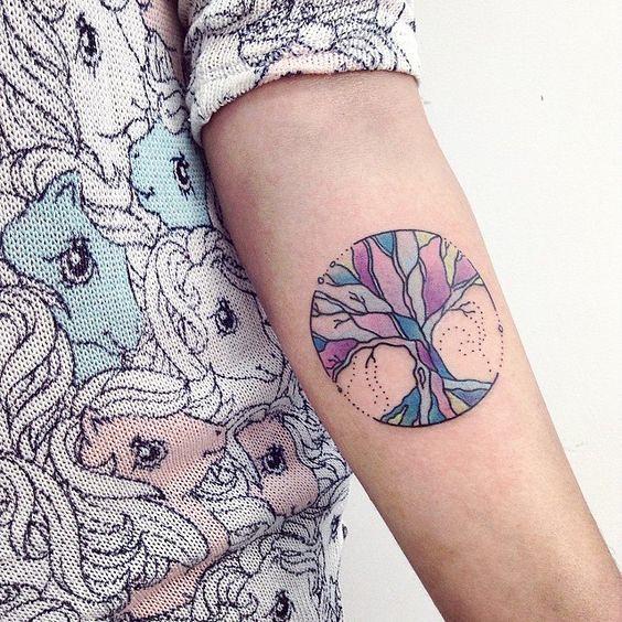 Tatuajes Del árbol De La Vida Para Echar Raíces Bajo Tu Piel Mini