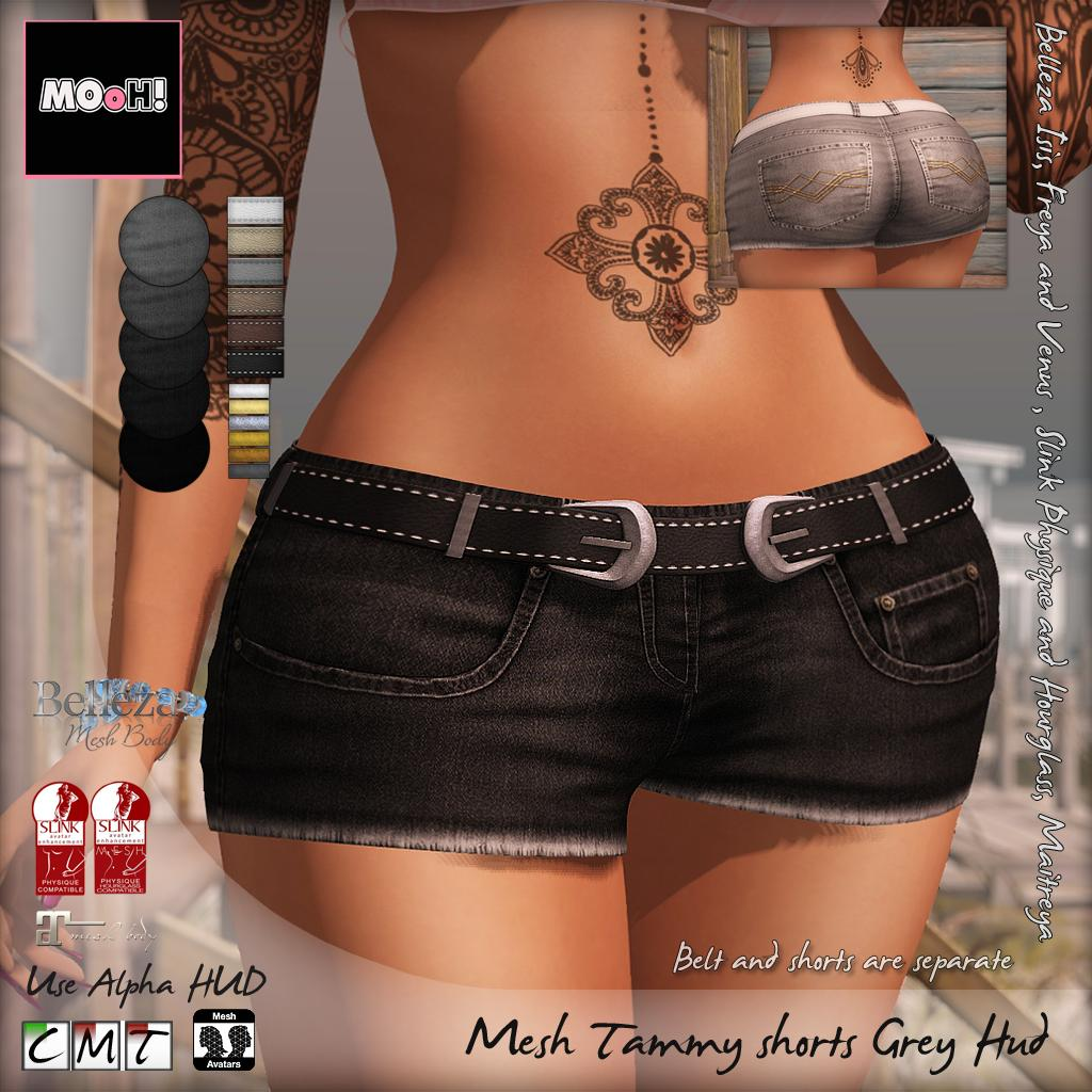Tammy shorts grey hud