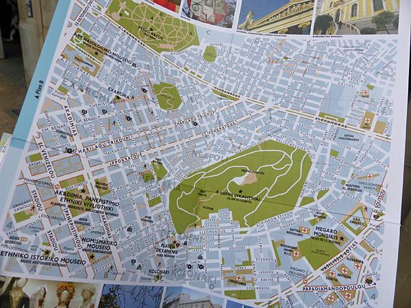 plan du Lycabette