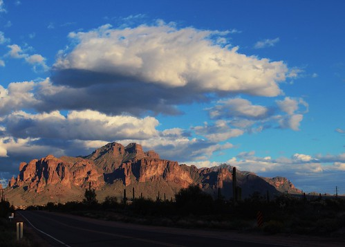 Superstition Mountains; A slice of home. 2019.