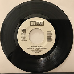 INNER CIRCLE:BAD BOYS(THEME FROM COPS)(RECORD SIDE-A)