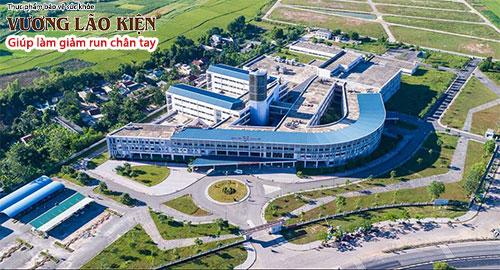 Một góc của bệnh viện Trung ương Huế - Cơ sở 2