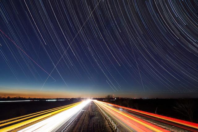 I-40 star trail