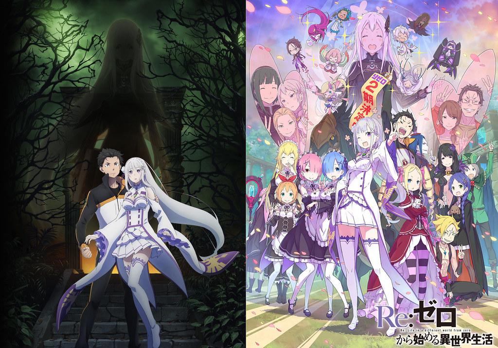 190324(1) - 強欲魔女『艾姬多娜』現身!『Re: 從零開始的異世界生活』動畫第2期、前日譚OVA《氷結の絆》預告片一同公開!