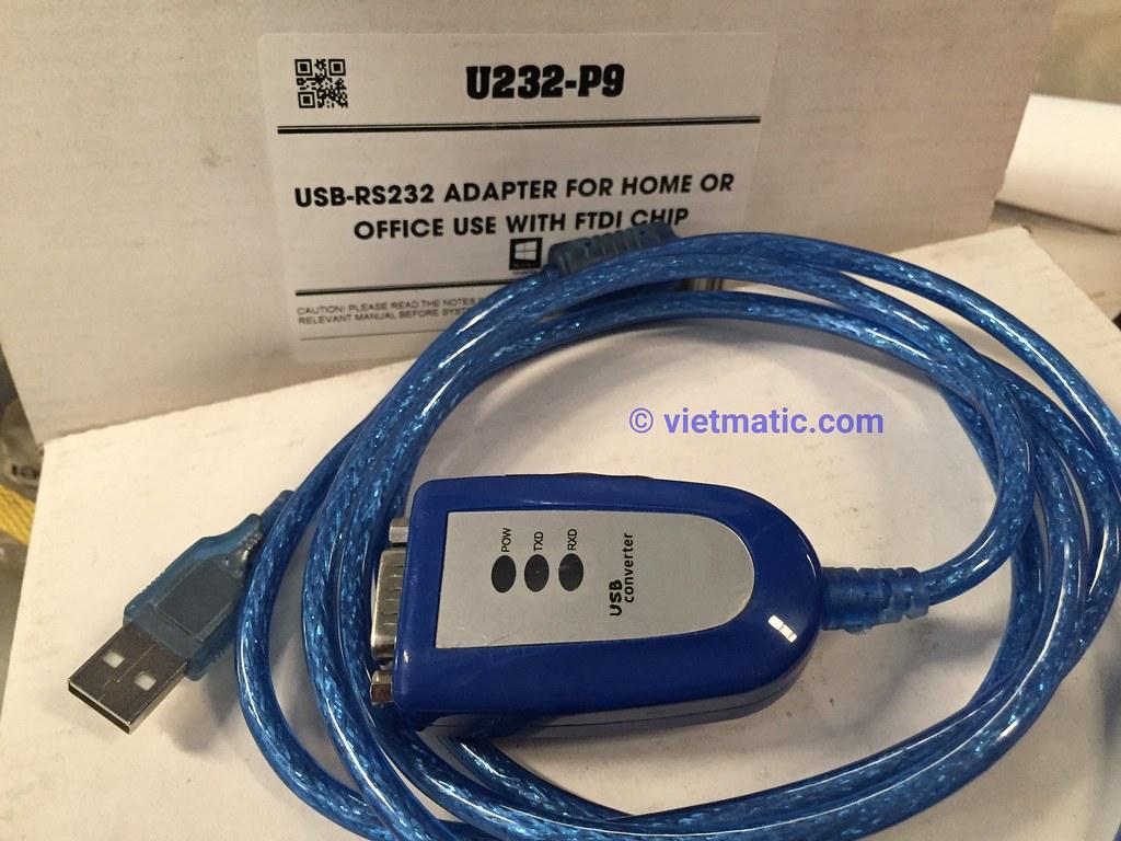 Cáp chuyển đổi USB - COM 9 chân