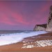 The Jurassic Coast at dawn in Dorset