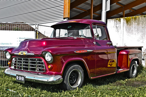 Chevrolet 3100 Stepside Pick-Up Truck 1957 (0919)