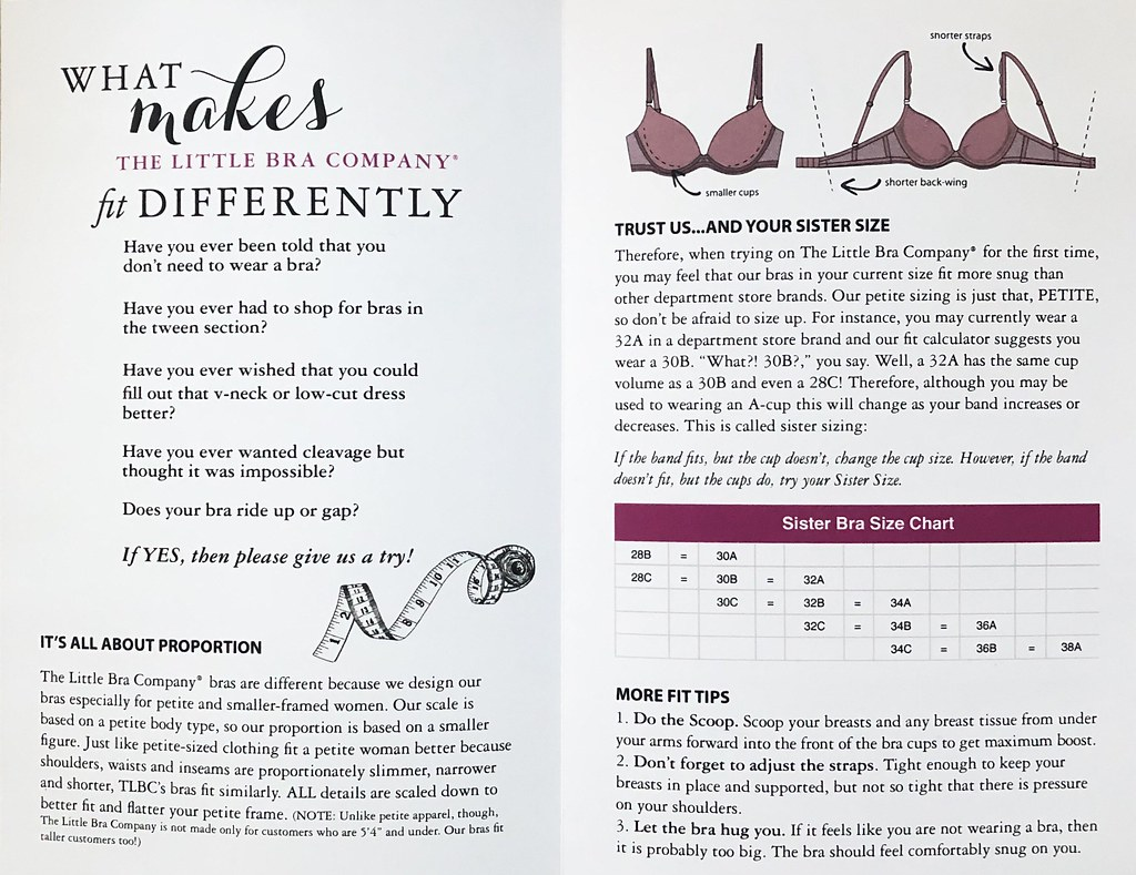 The Little Bra Company - Fit Tips