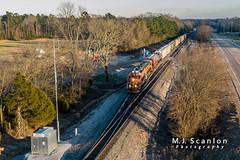 BNSF 2580 | EMD GP39-3 | BNSF Birmingham Subdivision