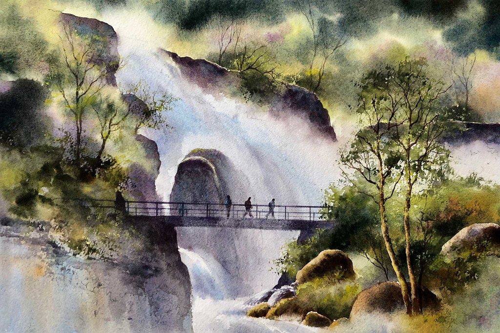 Watercolour Landscapes with Geoff Kersey – Watercolour