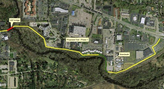 Trail Along Red Cedar River to Come in Fall 2020