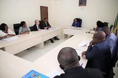 Dicusions entre les deux délégations