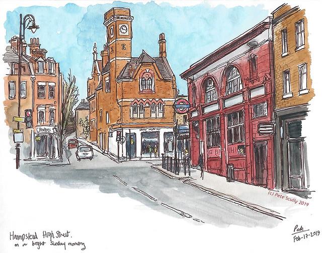 Hampstead High St