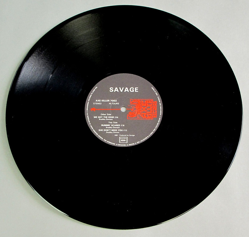 """SAVAGE WE GOT THE EDGE / RUNNING SCARED / SHE DON'T NEED YOU 12"""" MAXI-SINGLE VINYL"""