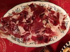 Comidas en Madrid jamón pata negra iberico