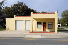 Old Gas Station in Brooksville