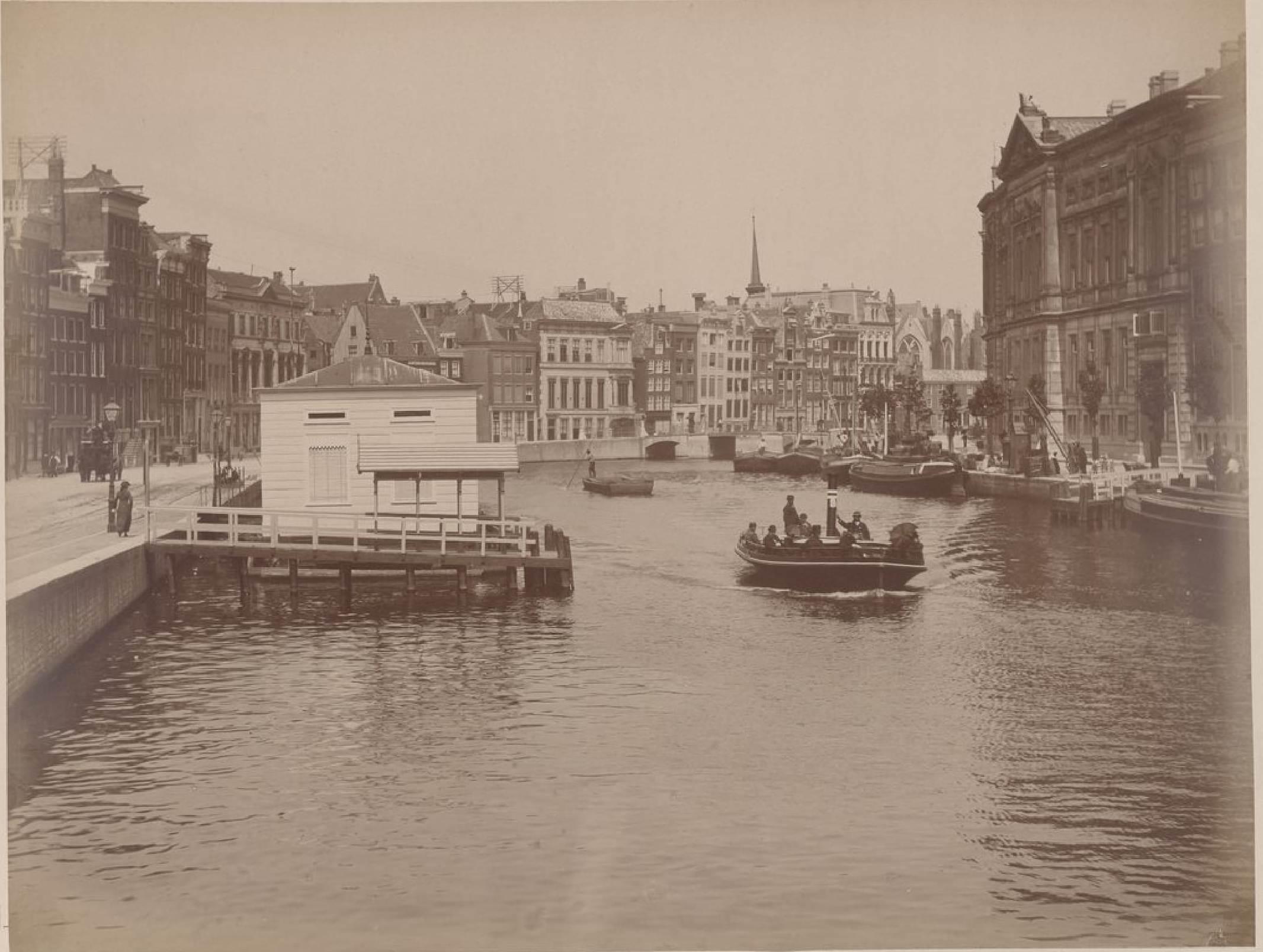 Амстердам. Улица Ракин, 15 мая 1888
