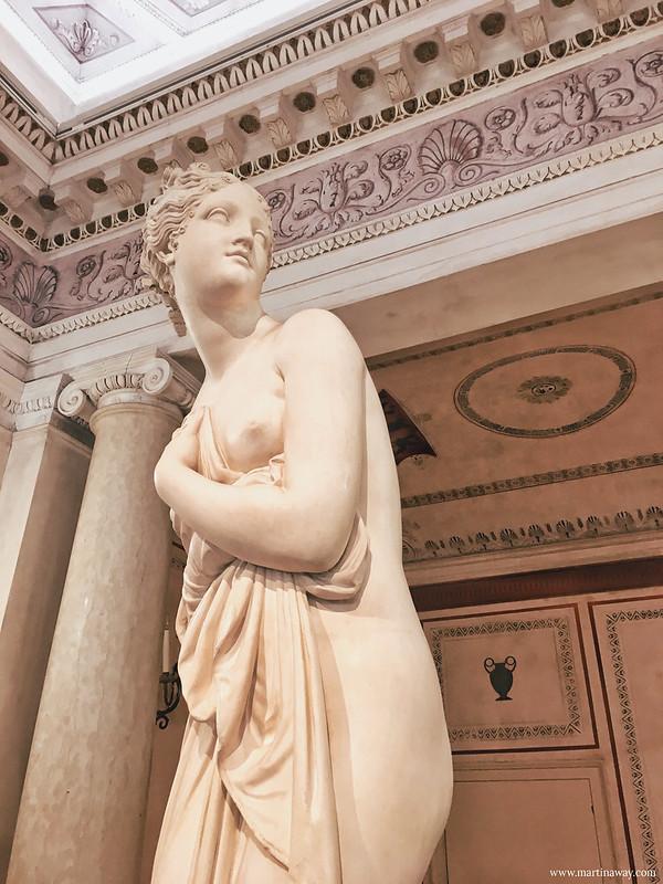 Sale Neoclassiche e collezione canoviana