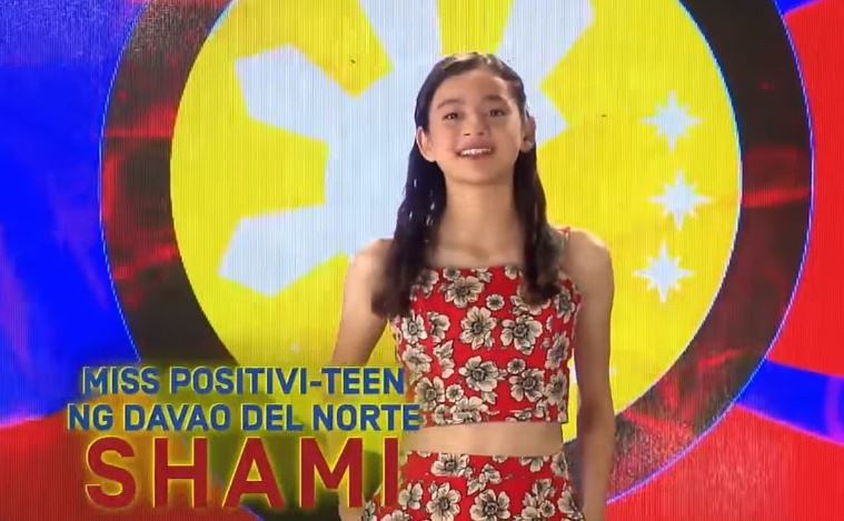 Shami Baltazar, Miss Positivi-Teen ng Davao Del Norte (2)