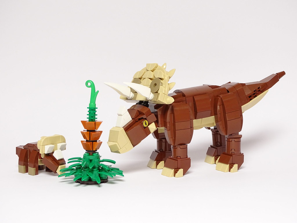 Triceratops LEGO Model