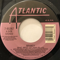 BRANDY:WHAT ABOUT US?(LABEL SIDE-A)