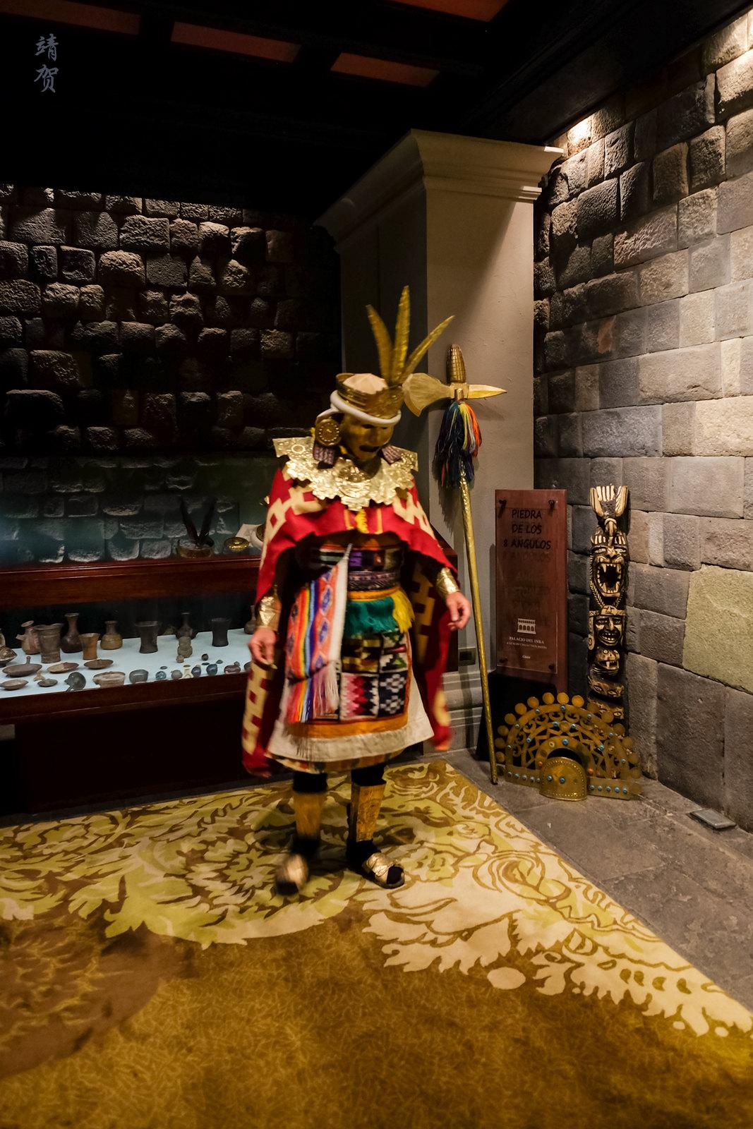 Inca warrior tour guide