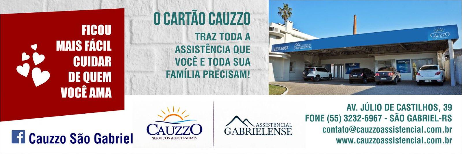 Conheça a página da Cauzzo São Gabriel no Facebook