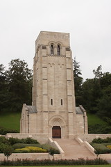 Memorial Tower and Chapel of Rest Aisne-Marne American Cemetery Belleau Wood France